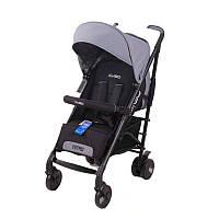 Детская прогулочная коляска-трость Easy Go Nitro, grey foх (5015)