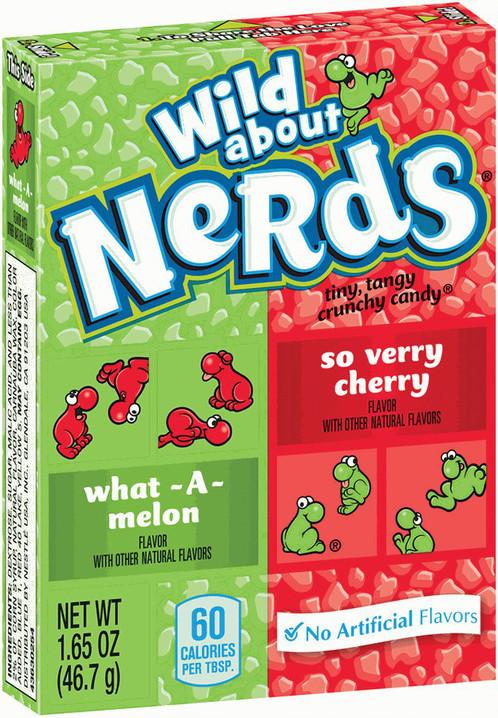 Драже Nerds Cherry-Melon 46,7 g