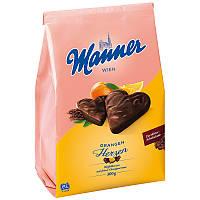 Manner Heart Orange 300 g