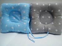 Подушка для новорожденных ортопедическая от 3х мес Зверюшки Детская подушка в детскую кроватку