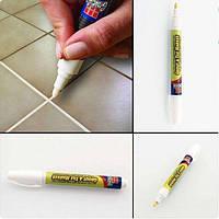 Карандаш для закрашивания швов плитки GROUT-AIDE маркер для кафеля