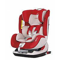 Детское автокресло 0-25 кг группа 0-1-2 от рождения до 6 лет Coletto Vento Isofix, красное