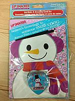 Подарочный новогодний набор с бальзамом  для губ, фото 1
