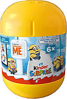 Kinder Surprise Minions around the world 120 g