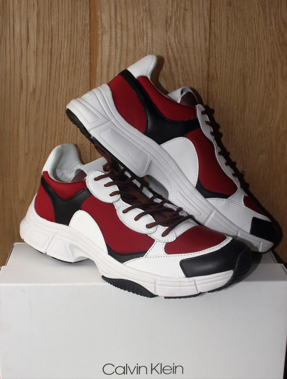 Кроссовки Calvin Klein Daxton red