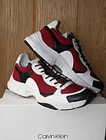 Кроссовки Calvin Klein Daxton red, фото 1