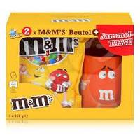 Набор с оранжевой чашкой M&M's