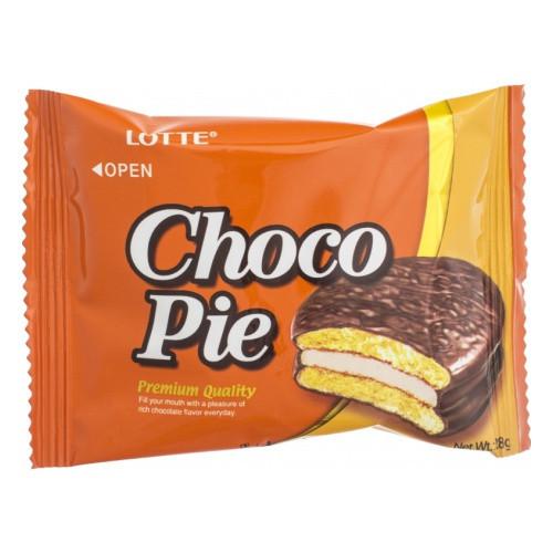 Печенье Choco Pie Lotte Orange 28 g