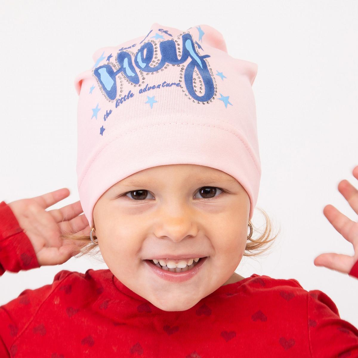 Весенняя шапка для девочки оптом - Артикул 2336