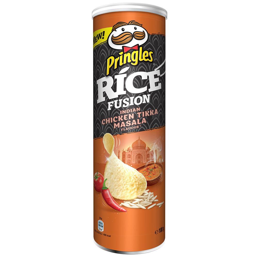 Чипсы Pringles Rice Fusion Chicken Tikka Masala 180 g