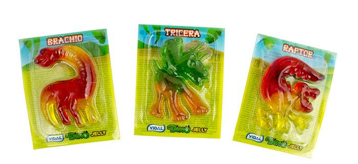 Vidal Dino Jelly 1 Динозавр 11 g