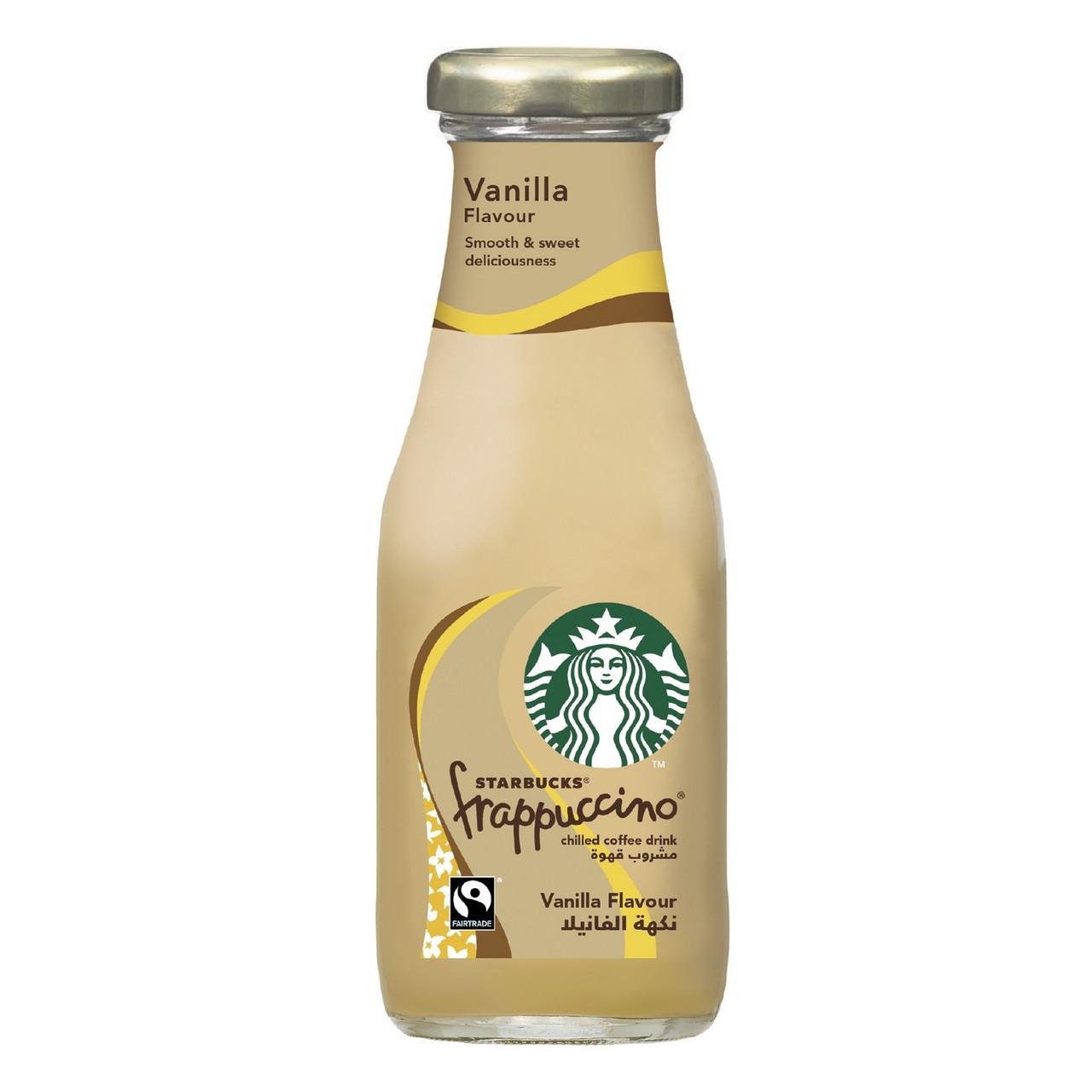Кофейный напиток Starbucks Frappuccino Vanilla Glass 250 ml