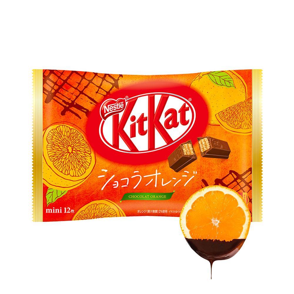 Шоколад  Kit Kat Chocolat Orange Упаковка