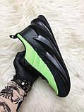Мужские кроссовки Adidas Sharks Green Black, мужские кроссовки адидас шарк, фото 3