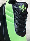 Мужские кроссовки Adidas Sharks Green Black, мужские кроссовки адидас шарк, фото 5