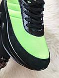 Мужские кроссовки Adidas Sharks Green Black, мужские кроссовки адидас шарк, фото 4