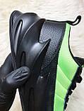 Мужские кроссовки Adidas Sharks Green Black, мужские кроссовки адидас шарк, фото 6