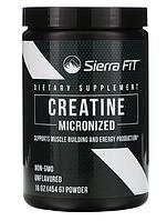 Sierra Fit, Микронизированный порошок креатина, без запаха, 16 унций (454 г)
