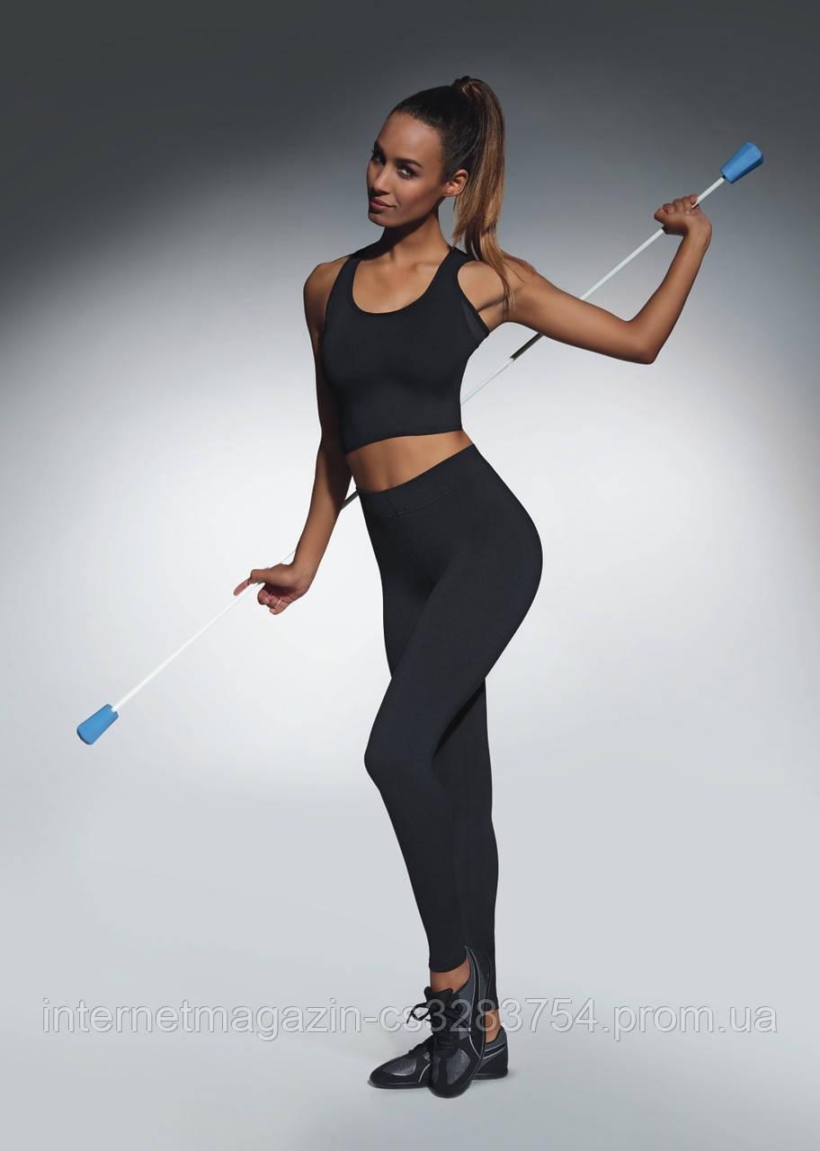 Женские спортивные леггинсы Bas Bleu Forcefit 90 L Черный (bb0056)
