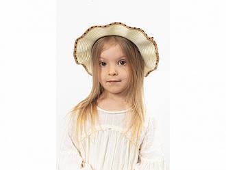 Детская шляпа Фант оптом желтая