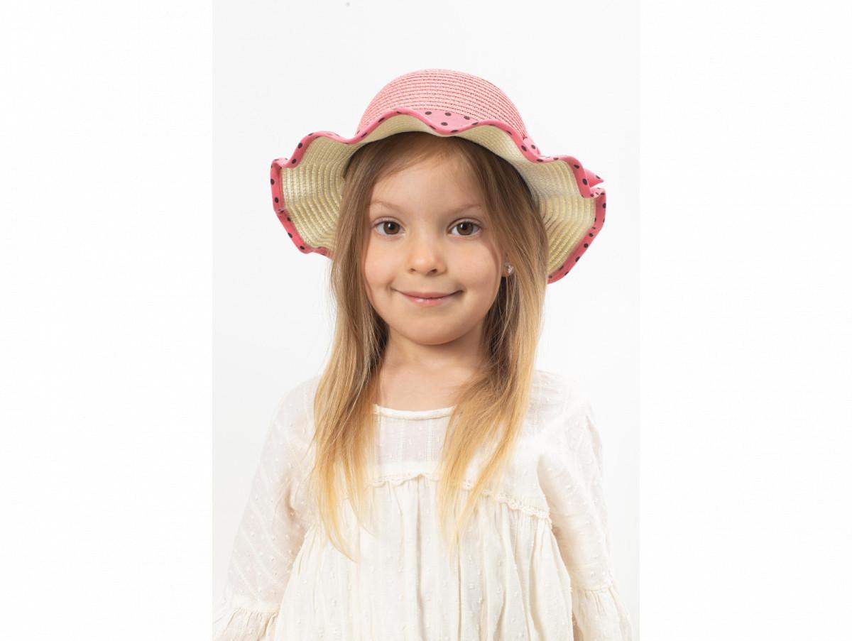 Детская шляпа Фант оптом темно-розовая