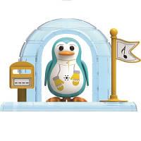 Игровой набор с интерактивным пингвином DigiPenguins - ИГЛУ ПЭЙТОНА (с иглу и свистком)