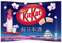 Шоколад  Kit Kat Sakura Japanese Sake Упаковка