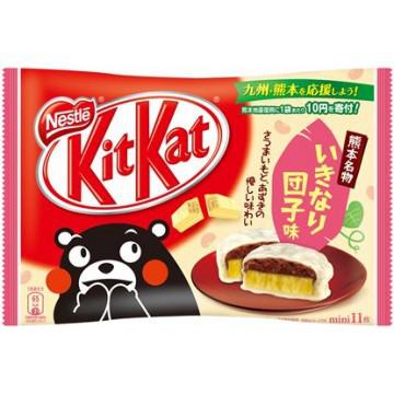 Шоколад  Kit Kat со вкусом картошки и красной фасоли Упаковка
