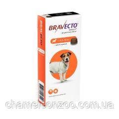 Бравекто (BRAVECTO) 4,5-10 кг жувальна таблетка від кліщів і бліх (ОРИГІНАЛ)