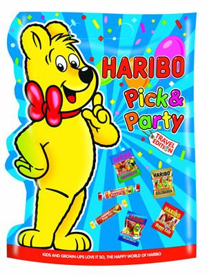 Набор жевательных конфет Haribo Pick & Party