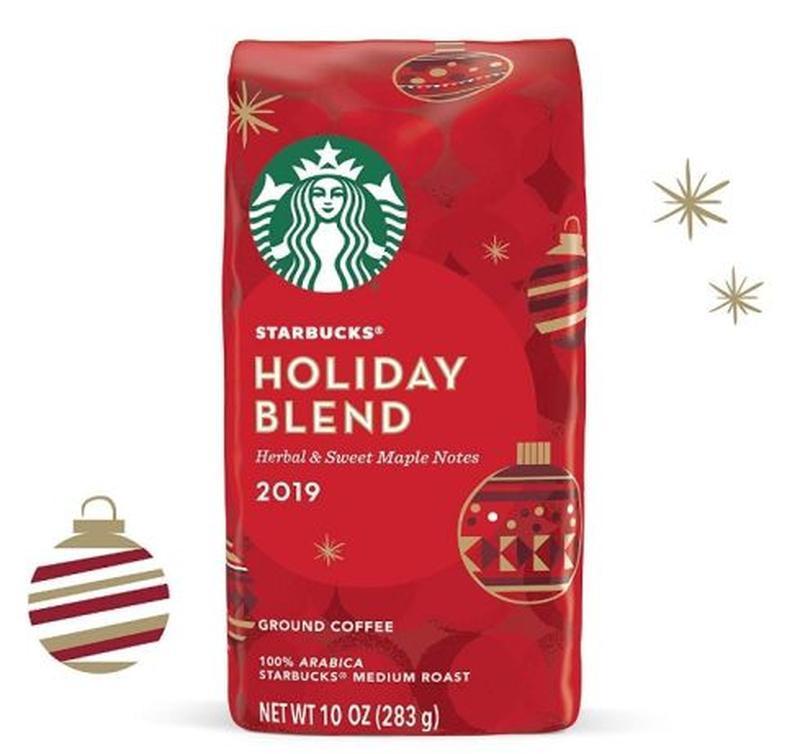 Кофе Starbucks Caffe Holiday Blend 283 g