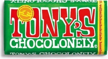 Шоколадка Tony's Chocolonely Hazelnut 32 % 180 g