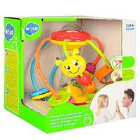 """Детская многофункциональная развивающая игрушка """"Погремушка-Логика"""" Hola, 17 × 17 × 16 см"""