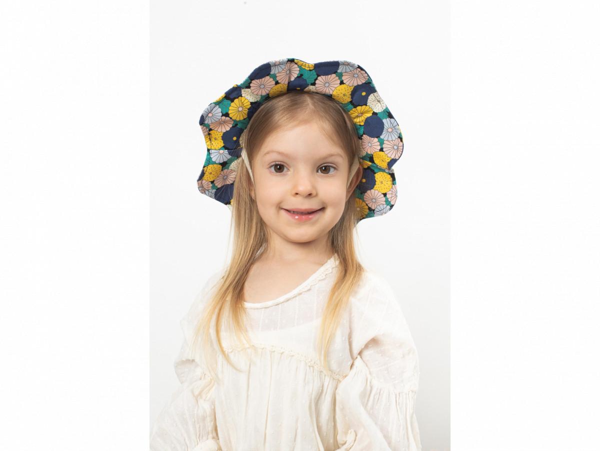 Детская шляпа Сэнди оптом желтая
