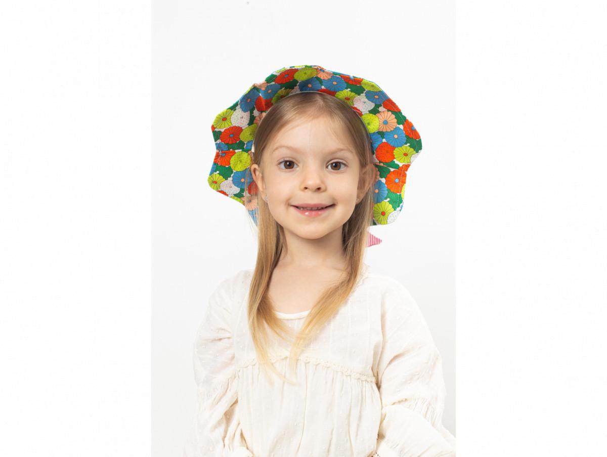 Детская шляпа Сэнди оптом молочная
