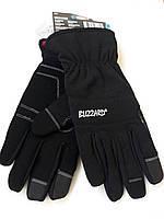 Теплые флисовые перчатки XL с сенсором для смартфона, фото 1