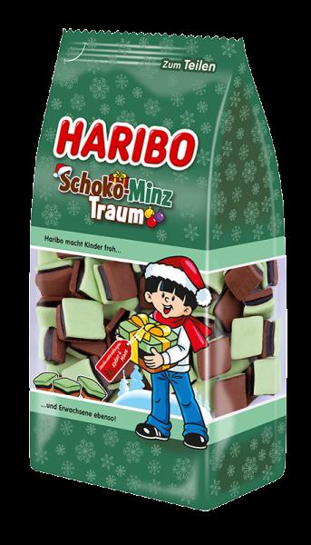 Haribo Schoko Minz Traum 300 g