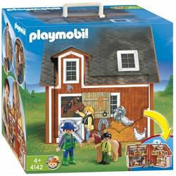 Конструктор Playmobil Ферма 4142 ( Кукольный домик ферма плеймобил 4142 )