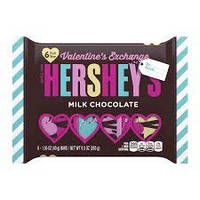 Конфеты Hershey's valentine's day milk chocolate 263 g