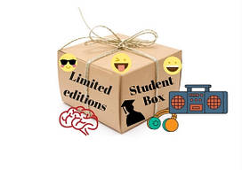 Бокс со сладостями MEGA Student Sweet Box для Мега компании