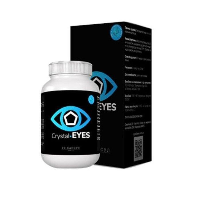Crystal Eyes капсулы для восстановление зрения Кристал Айс ViP