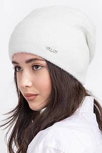 Женская зимняя шапка с подкладкой из флиса Неаполь оптом