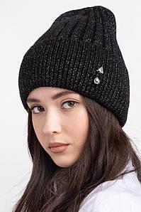 Женская зимняя шапка с подкладкой из флиса Сонг оптом