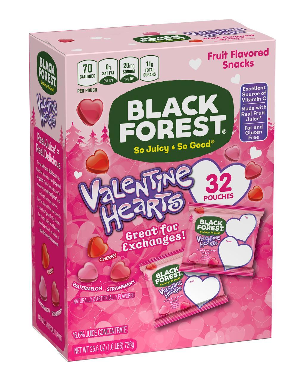 Black Forest Valentine Hearts 726 g