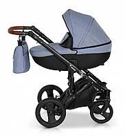 Детская коляска универсальная 2 в 1 Verdi Mirage 05, голубая (6478)