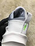 Мужские кроссовки Adidas Sharks White Gray, мужские кроссовки адидас шарк, фото 9