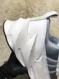 Мужские кроссовки Adidas Sharks White Gray, мужские кроссовки адидас шарк, фото 7