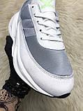 Мужские кроссовки Adidas Sharks White Gray, мужские кроссовки адидас шарк, фото 4