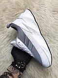 Мужские кроссовки Adidas Sharks White Gray, мужские кроссовки адидас шарк, фото 3