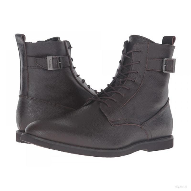 Ботинки Calvin Klein Farrin Tumbled Action dark brown